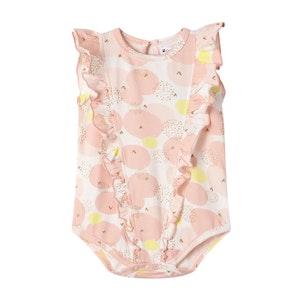 Cracked Soda - Peachy Blossom Bodysuit