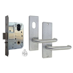 Kaba MS2 Series Stainless Steel 60mm Backset Mortice Lock Kit