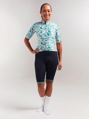 Black Sheep Cycling Women's Essentials TEAM Jersey - Sakura Green