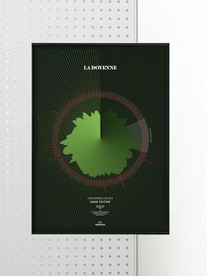 La Doyenne - Liege Bastogne Liege - 2016: Limited Edition Print by Massif Central
