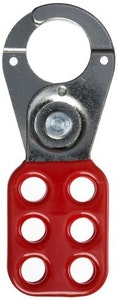ABUS Lock Out Tag Out (LOTO) 25mm hasp in red
