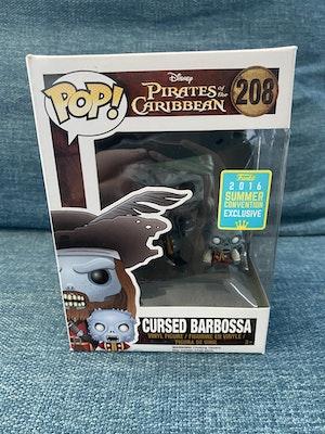 Cursed Captain Barbossa Pop