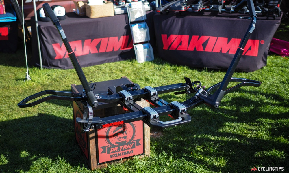 best of sea otter classic 2017 yakima hitch rack 1