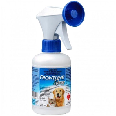 Frontline Fleas Treatment & Prevention Spray for Dogs & Cats - 3 Sizes