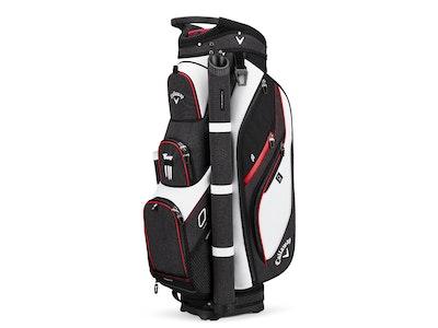 Callaway Forrester Cart Bag White Black Red