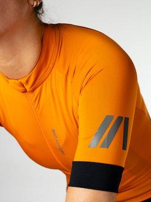 Twenty One Cycling Factory Midweight Jersey - Burnt Orange - Women