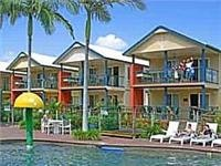 Diverse accommodation at BIG4 North Star Holiday Resort
