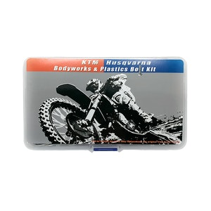 80PC KTM SX EX EXC Body & Plastics Bolt Kit