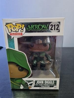 John Diggle (Hooded) #212 Funko Pop - The Arrow TV Series