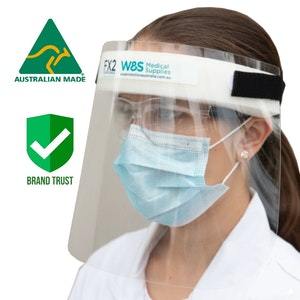 Full Face Shield (20pcs) - Quality AUSTRALIAN MADE FX2