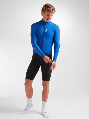 Black Sheep Cycling Men's Elements LS Thermal Jersey - Royal