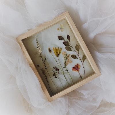 Florapeutic Secret Garden - Pressed Floral Art