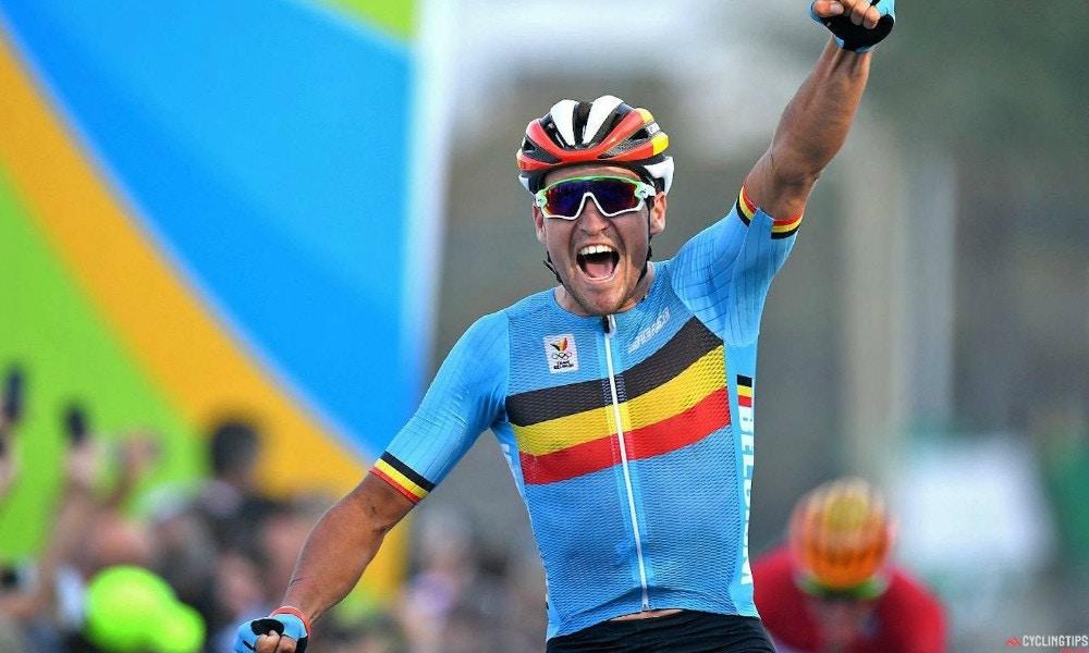 Greg Van Avermaet takes gold!