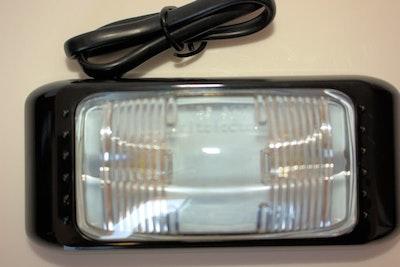 Clear Side Marker LED Multivolt Large Size