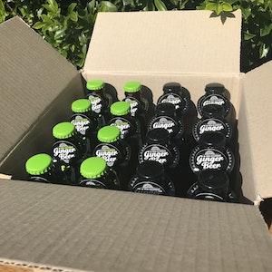 GRUMPY'S GINGER BEER - Mixed Carton - Original / Lime N Bitters