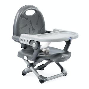 Chicco Booster Seat: Pocket Snack - Dark Grey