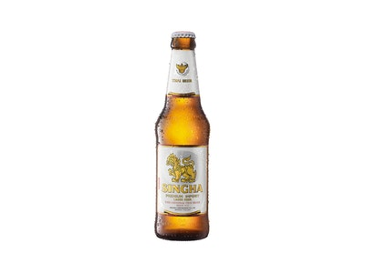 Singha Lager Bottle 330mL