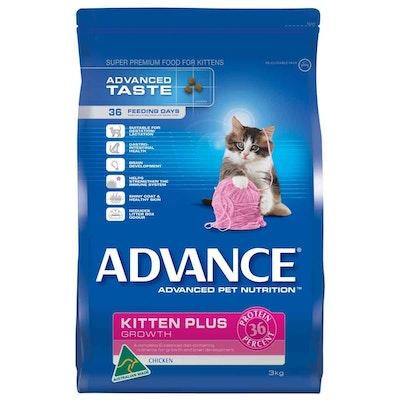 Advance  Kitten Plus  Chicken  Dry Kitten Food