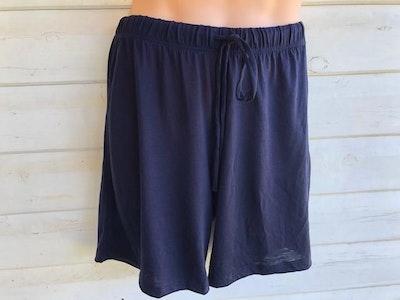 Men's Sleep Shorts   100% Merino Wool Navy