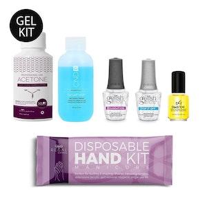 DIY Gel Manicure Kit| Six-Piece Salon Essential Nail Set