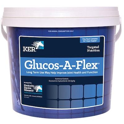 KENTUCKY EQUINE RESEARCH Ker Equivit Glucos-A-Flex Horse Joint Supplement - 2 Sizes