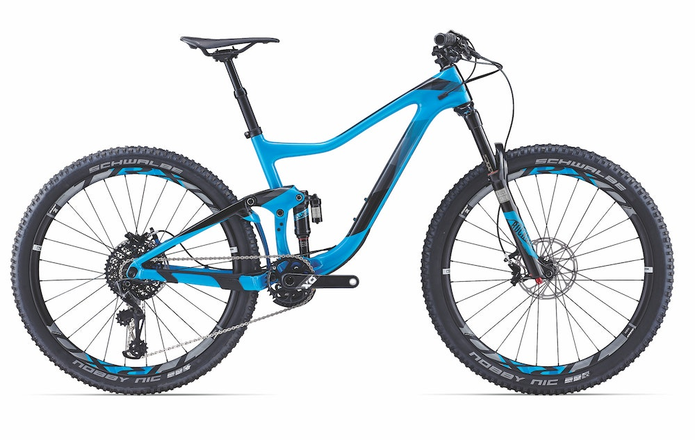 Giant Trance ADV 0 Blue RT BikeExchange 2017
