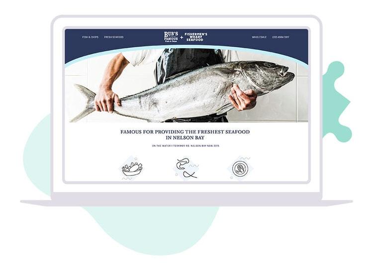 Website design for bars and restaurants