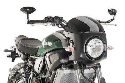 Puig Retro Semi Fairing To Suit Yamaha XSR700 2016 - Onwards (Black)