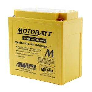 MB16U MotoBatt Quadflex 12V Battery
