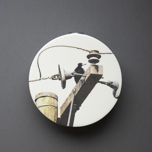 Magpie Circular Wall Vase