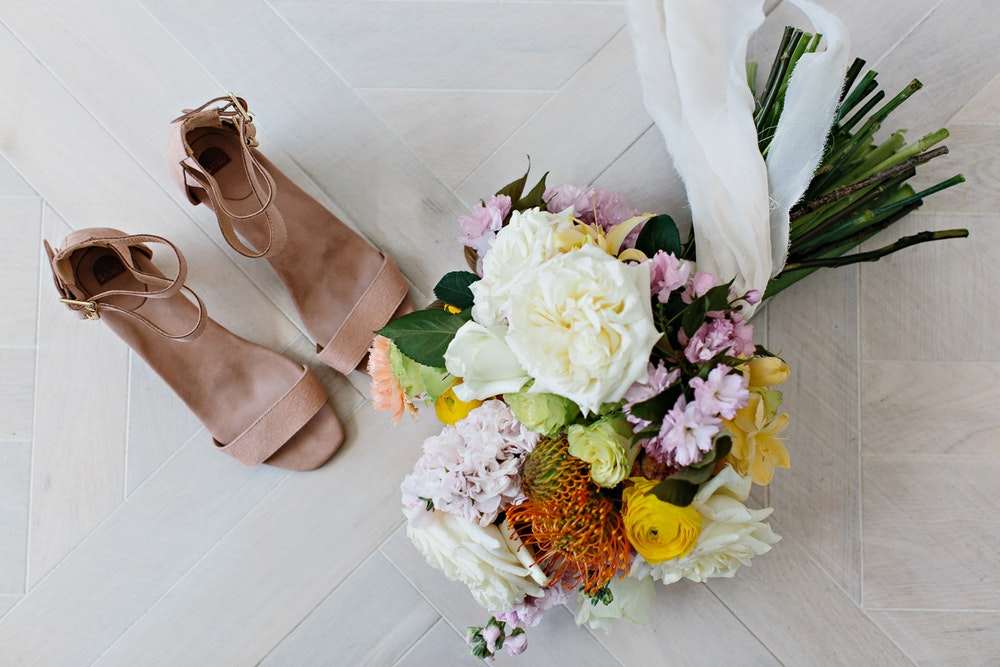 LENZO Love is Love Wedding Bared Footwear