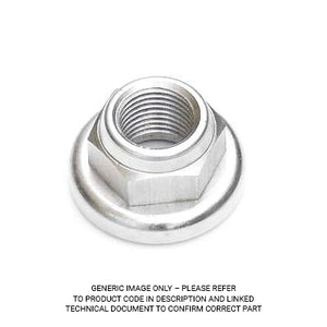 Campagnolo Locknut For Threaded Rear Hub - Pista Rh-PI005