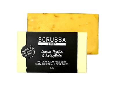 Lemon Myrtle, Calendula & Yellow Clay Natural Handmade Soap