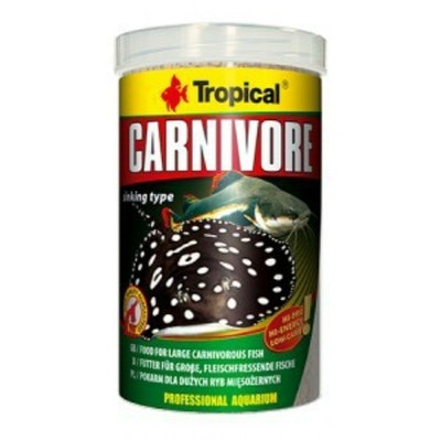 Tropical Carnivore Pellet Large 600G