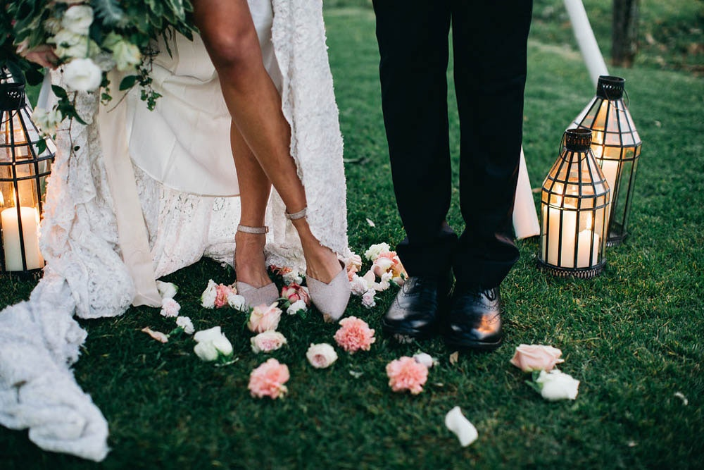 LENZO Bared Footwear Wedding Shoes