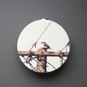 Kookaburra Circular Wall Vase