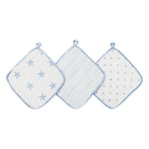 aden dapper muslin washcloths 3-pack