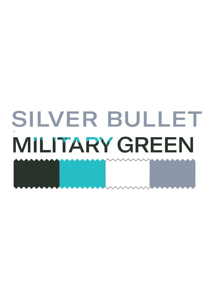 Silver Bullet Military Green