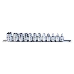 """SP20550 E-Torx Socket Rail Set 12 Piece 3/8"""" Dr SP20550"""