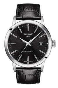 Tissot Classic Dream Swissmatic - Black with Leather Strap