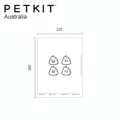 PETKIT Dog Waste Bag Replacement Degradable Pet Poo Pick Up Garbage Bags Refill