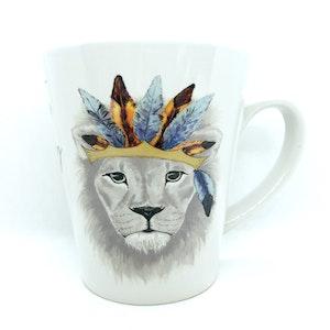 artbrush mug 'The King'