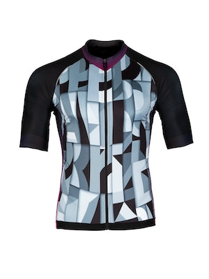 Paria Typography Cycling jersey