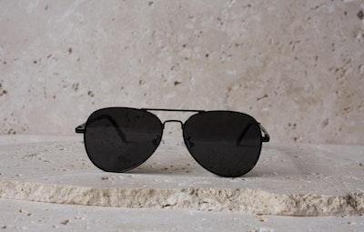 Flynn Black Sunglasses