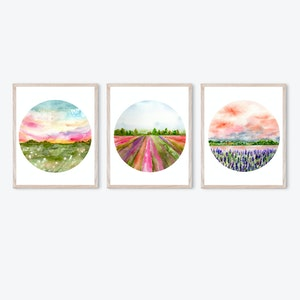 Floral Fields Collection - Archival Prints