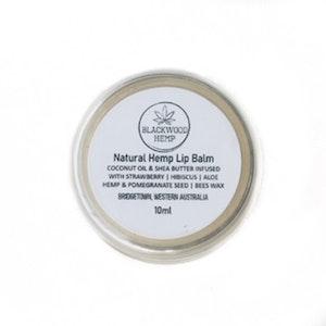 Blackwood Hemp Cruelty-free Natural Hemp Lip Balm - 10ml