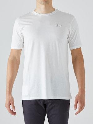 Givelo Off-White 100% Peruvian Cotton T-Shirt