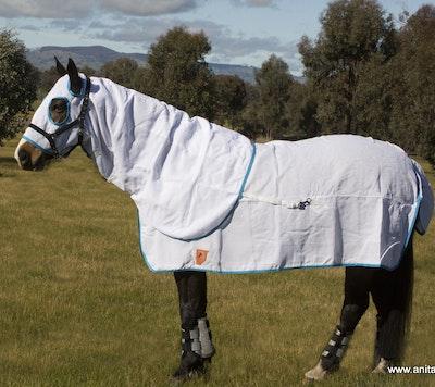Capriole Equestrian Flag Cloth Hood