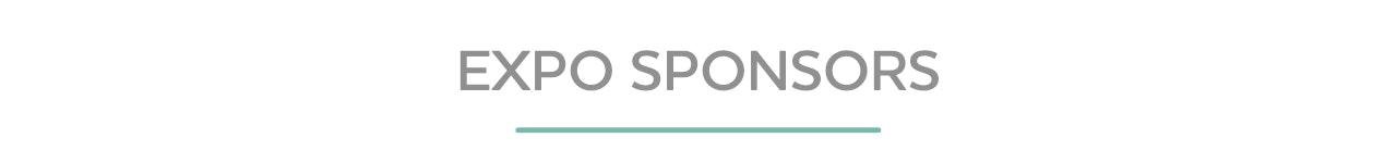 Expo Sponsor Blue Banner