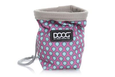 Doog Treat Pouch Luna Pink/Grey Small